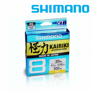 Splétaná Šňůra Shimano Kairiki 8 Green 150m 0,10mm/6,5kg