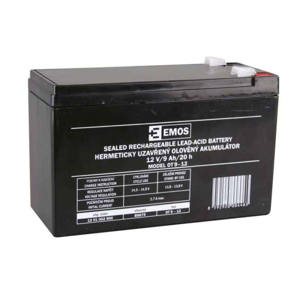 Akumulátor Sports Olověný Nabíjecí 12V / 9Ah Faston 6,3mm