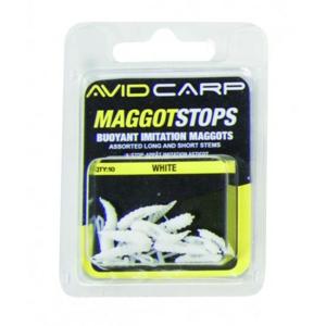 Zarážky Avid Carp Maggot Stops Žlutá