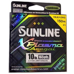 Splétaná Šňůra Sunline XPlasma Asegai 150m 0,209mm/7,2kg