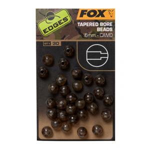 30ks - Korálky Fox Edges Camo Tapered Bore Beads 6mm