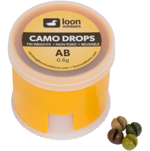 Zátěže Loon Outdoors Camo Drop - Twist Pot Velikost 4 - 0,2gr