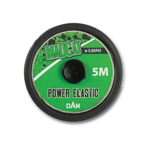 Madcat šňůra guma POWER ELASTIC 5m 0,80mm