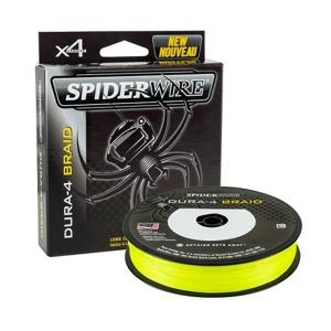Šňůra Spiderwire Dura4 Yellow 150m 0,10mm/9,1kg