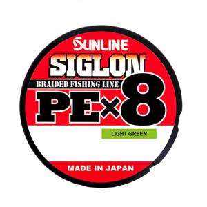 Šňůra Sunline Pex8 150m LGR 0,171mm/7,3kg