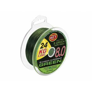Šňůra WFT KG 8.0 600m Zelená 0,22mm/29kg