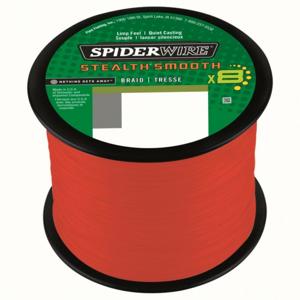 Šňůra Spiderwire Stealth Smooth8 Červená po 1m 0,13mm 12,7kg