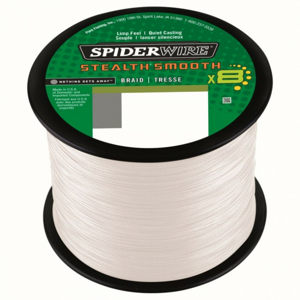 Šňůra Spiderwire Stealth Smooth8 Průhledná po 1m 0,29mm 26,4kg