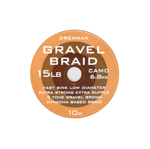 Návazcová Šňůra Drennan Gravel Braid 10m 8lb