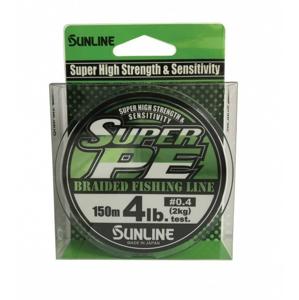 Šňůra Sunline New Super PE 150m LGR 0,171mm/4,54kg