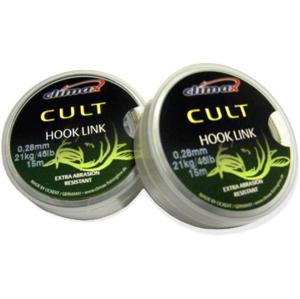 Návazcová Šňůra Climax Cult Hook Link 15m 0,28mm/21kg