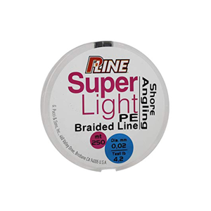 Šňůra P-Line Super Light PE Braided Line 100m 0,04mm/5,3lb