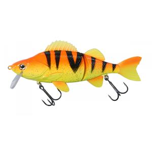 Realistická Napodobenina DAM Effzett Slide´n Roll Perch 18cm 80gr Orange Perch UV