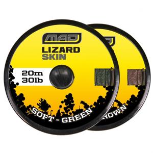 Návazcová Šňůra MAD Lizard Skin Soft Brown 20m 20lb