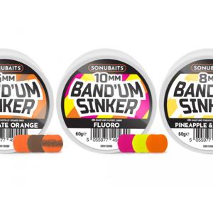 Umělá Nástraha Sonubaits Band'um Sinkers 10mm Chocolate Orange