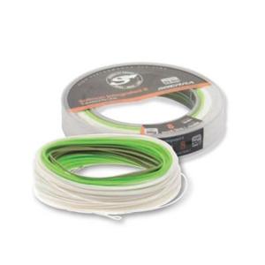 Muškařská Šňůra Scierra Salmon Integrated II White/Spring Green/Green DH8 33,5m