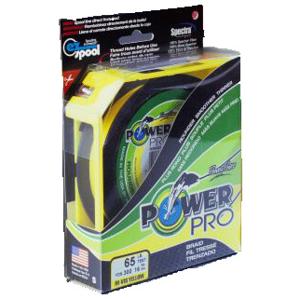 Pletená Šňůra PowerPro Zelená 1370m 0,13mm / 8kg