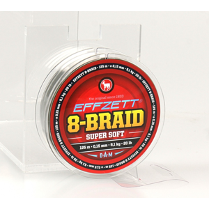 Pletená Šňůra Effzet 8-Braid Moss Green 250m 0,10mm/6,8kg/15lb