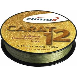 Pletená Šňůra Climax Carat 12 135m 0,17mm/14,9kg