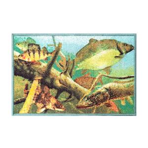 Rohožka Delphin Aqua