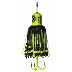 Nástraha MADCAT A-Static Clonk Teasers Fluo Yellow UV #2/0 100gr