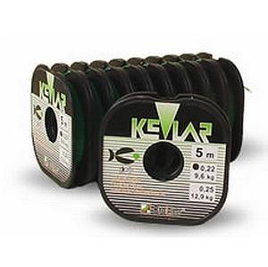 Pletená Šňůra BroLine Kevlar 100% 5m 0,22mm/9,6kg