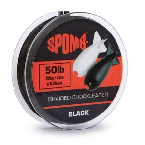 Šoková Šňůra Spomb Braided Leader 0,26mm/22kg