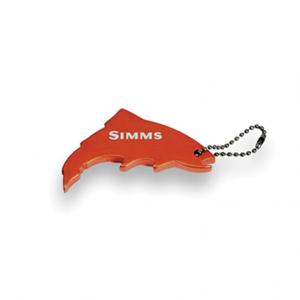Klíčenka Simms Thirsty Trout Keychain Orange