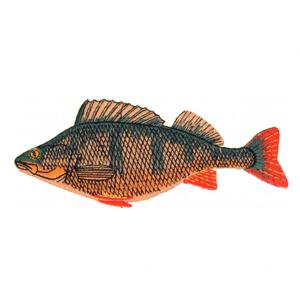 Nášivka JSA Fish Okoun Délka 9cm