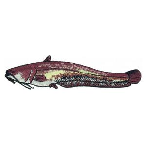 Nášivka JSA Fish Sumec Délka 9cm