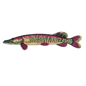 Nášivka JSA Fish Štika Délka 9cm