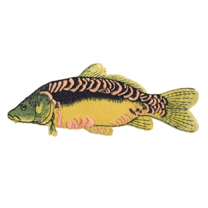 Nášivka JSA Fish Kapr B 13cm