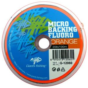 Micro Backing Giants Fishing Fluoro-Orange 20lb/100m