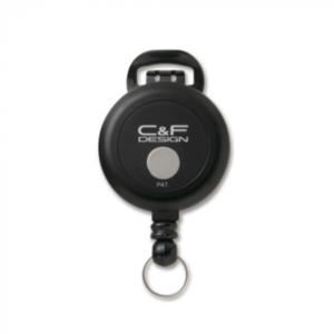 Jojo C&F Design Flex Pin-On Reel Černá