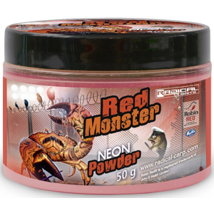 Neonový Prášek Radical Carp Red Monster 50gr