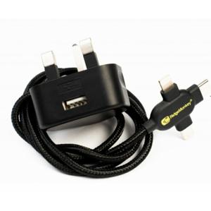 Nabíječka RidgeMonkey Vault 12W USB Mains Power Adaptor