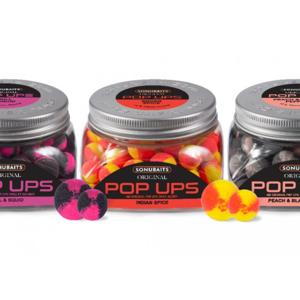 Plovoucí Boilies Sonubaits Original Pop Ups Krill & Squid