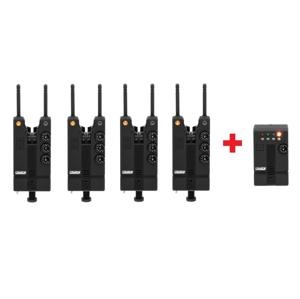 Sada Signalizátorů MAD HI-T Bite Alarm Set 4+1