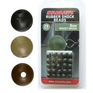 Gumové Kuličky Starbaits Rubber Shock Beads 4mm 10ks Písková