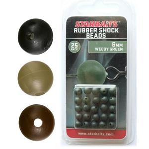Gumové Kuličky Starbaits Rubber Shock Beads 8mm 10ks Písková