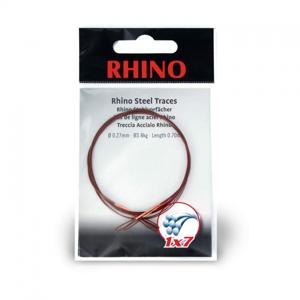 Rhino ocelové lanko 1x7 0,7m 0,21mm 5kg 2ks