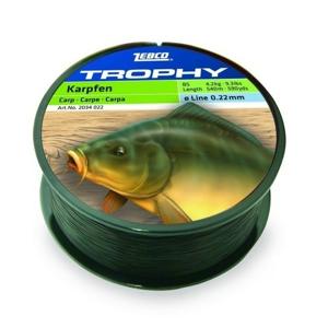 Vlasec Zebco Trophy Carp Black 0,35mm/9,2kg