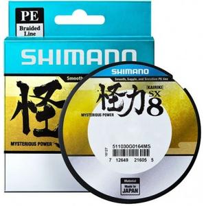 Splétaná Šňůra Shimano Kairiki PE Green 150m 0,07mm/4,5kg