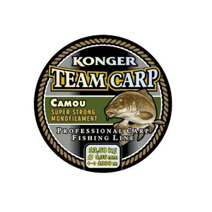 Vlasec Konger Team Carp Camou 600m 0,40mm/15,3kg