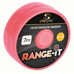 Markerovací Šňůra Carp Spirit CS Range-It Marker 7m Orange