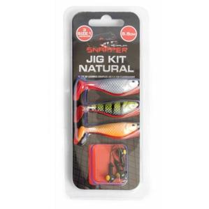Sada Nástrah Korum Snapper Jig Kit 5,5cm Natural