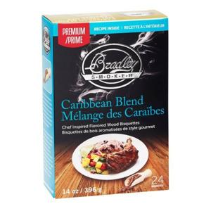 Udící Brikety Bradley Smokers Premium Caribbean Blend 24ks