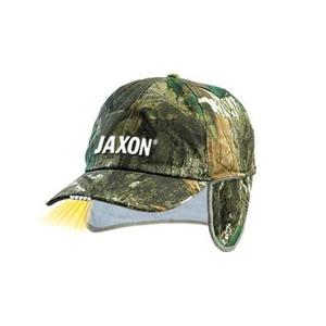 Zimní Kšiltovka Jaxon Camouflage 5 LED