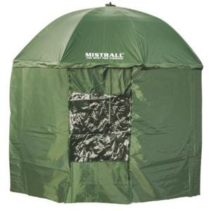 Deštník Mistrall se Zástěnou PARASOL PVC 1 Okno 2,50m
