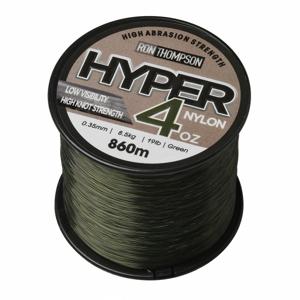 Monofilní Vlasec Ron Thompson Hyper 4 OZ Nylon Green 0,40mm 650m